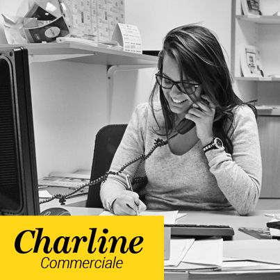Charline - Chargée d'affaires