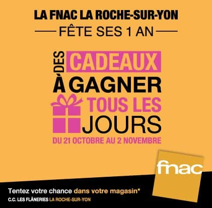 La Fnac de La Roche-Sur-Yon