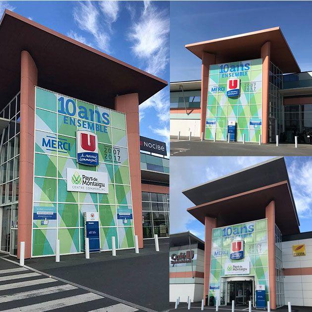 Centre commercial Pays de Montaigu - 10 ans