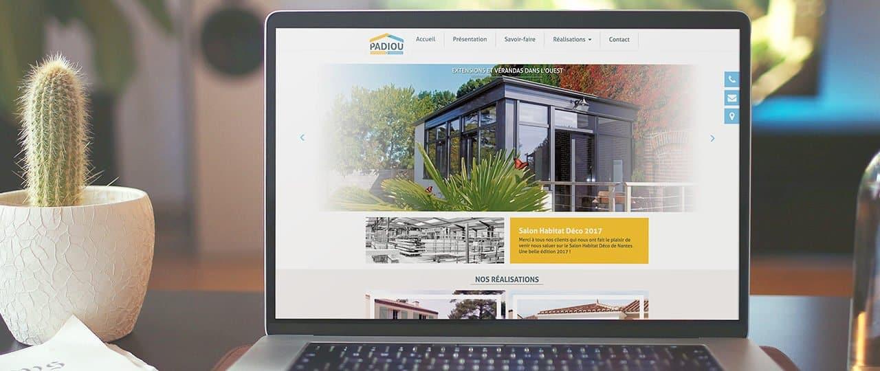 Nouveau site pour Padiou Véranda | Willow Création